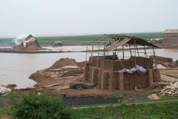 Brick factory on the Red River Delta, Vietnam--Seto Lab