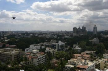 Bangalore, India from above--Chris Shughrue